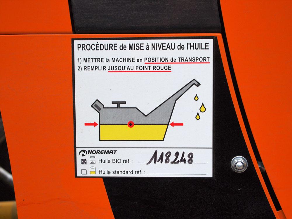 Carasol Débroussaillage utilise une huile bio